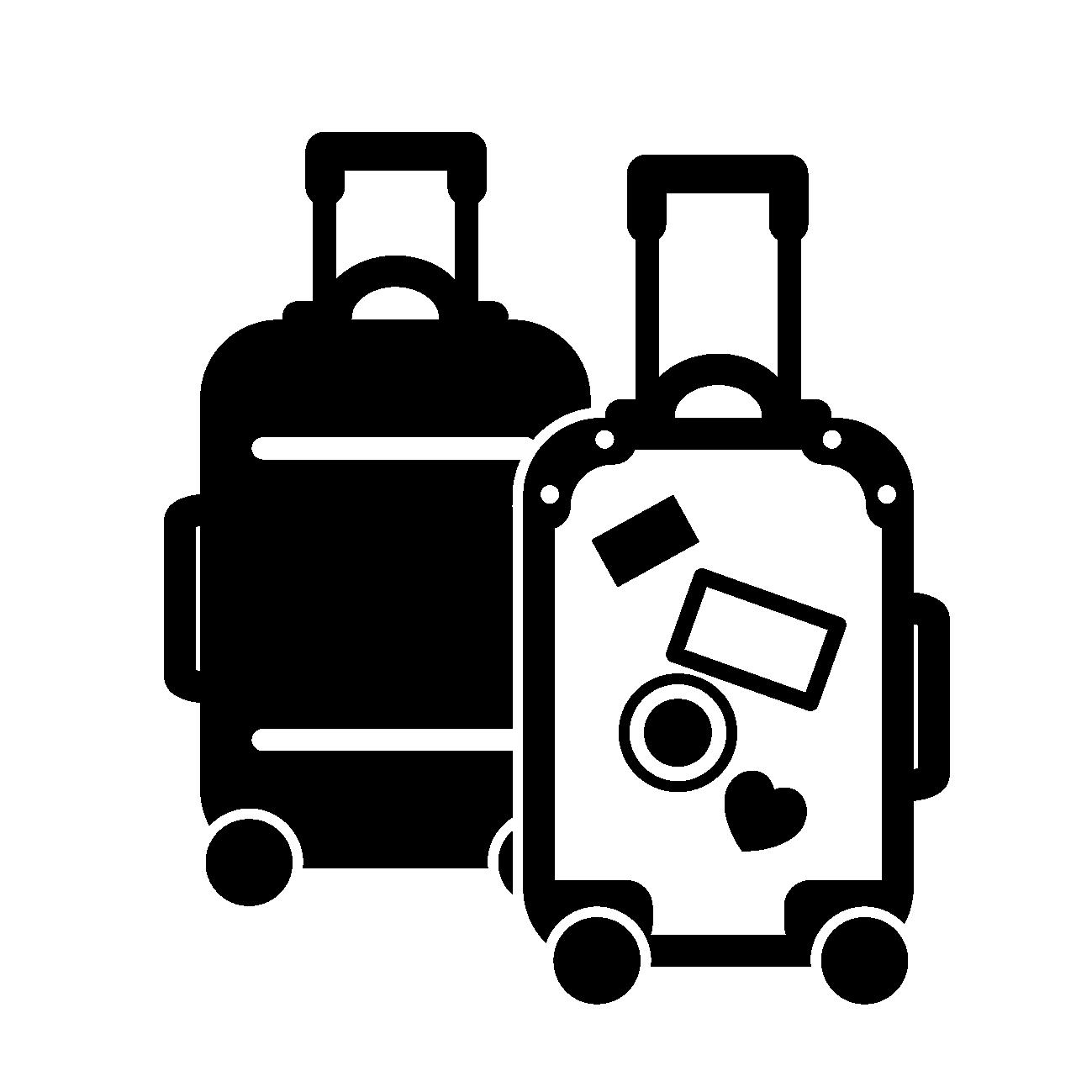 ミニマリストの持ち物はスーツケース2個が標準!両手で引っ越し!