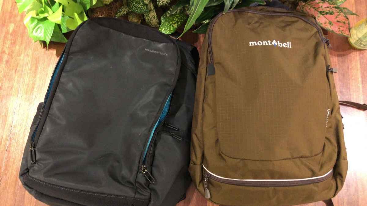 バッグパックが2個