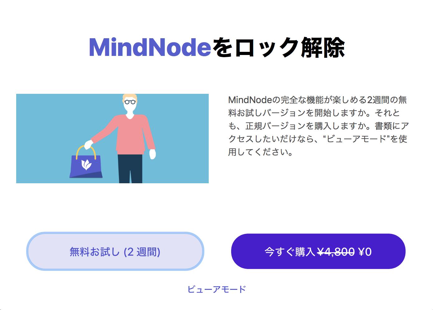 【マインドマップ】MindNode5への無料アップデート方法【マインドノード5】
