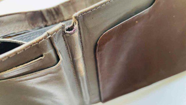 ベルロイの財布(2年使用)