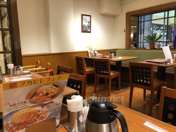 551蓬莱レストラン内