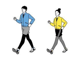 競歩ウォーキングのトレーニングをアプリで脳を動かし再開した話