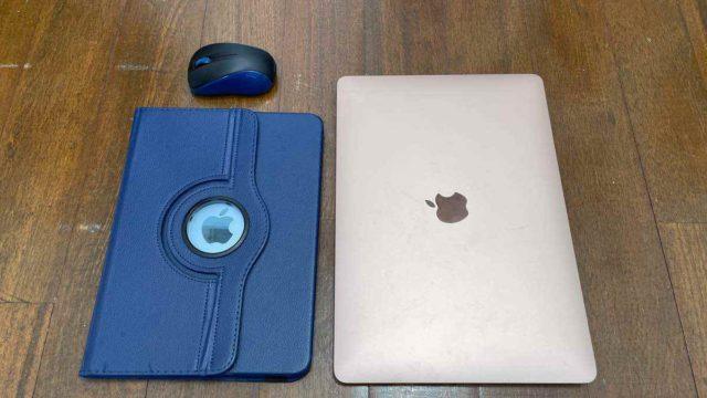 Macbook AirとiPad Air