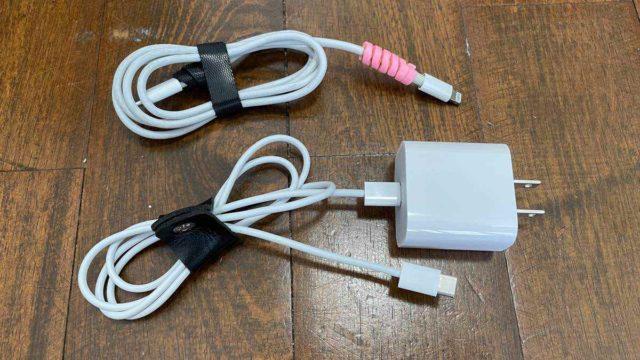 ipadの充電アダプタ