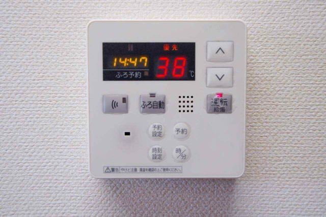 温水コントロールパネル
