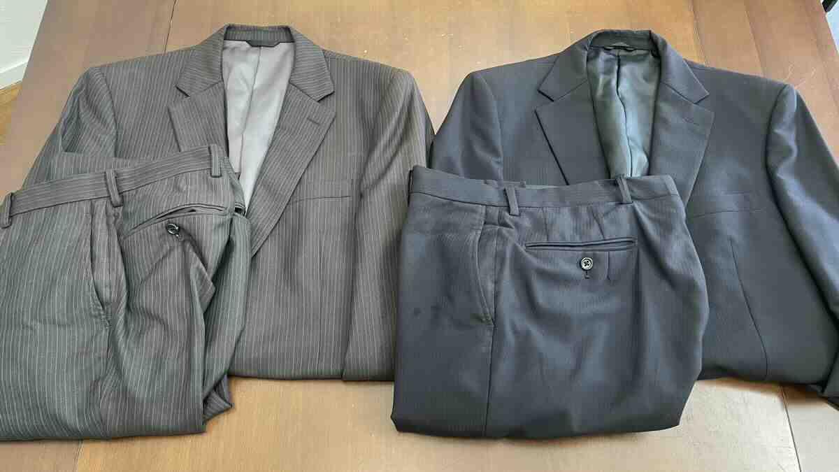 スーツを捨てるために紳士服のはるやまへ