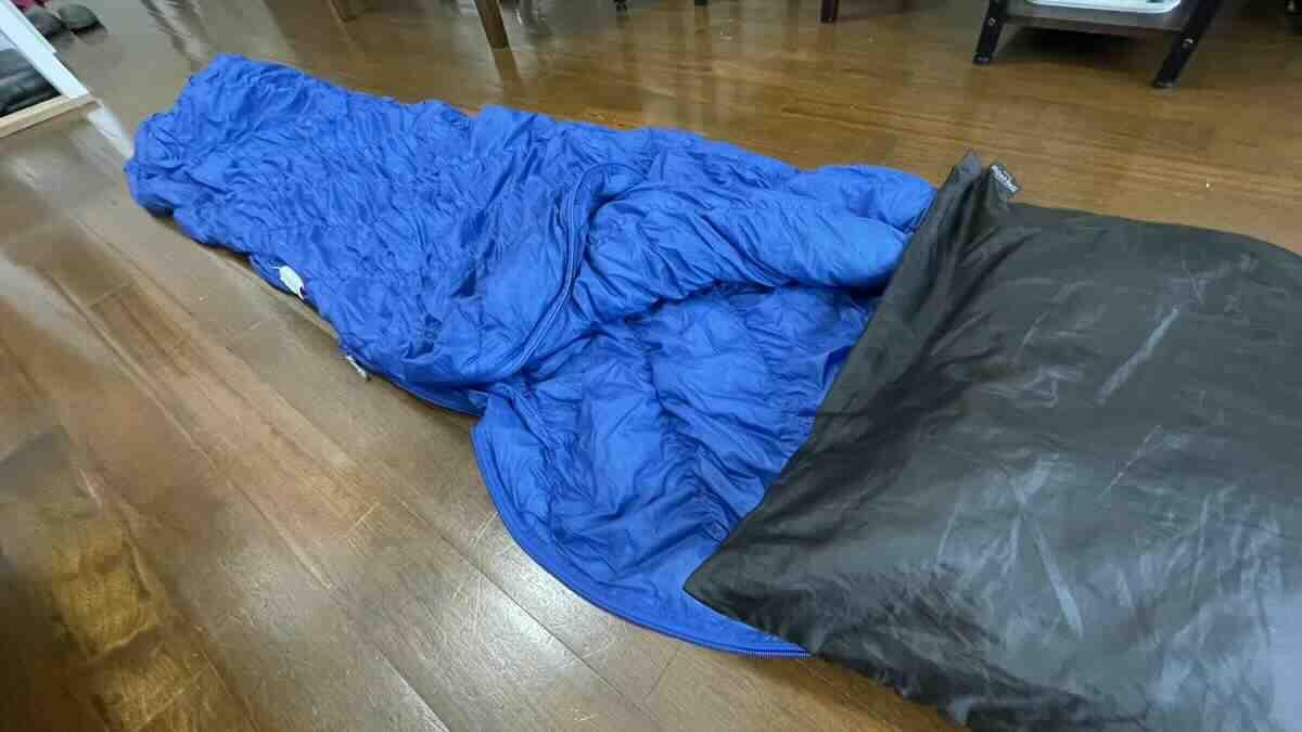 床寝におすすめのシュラフ