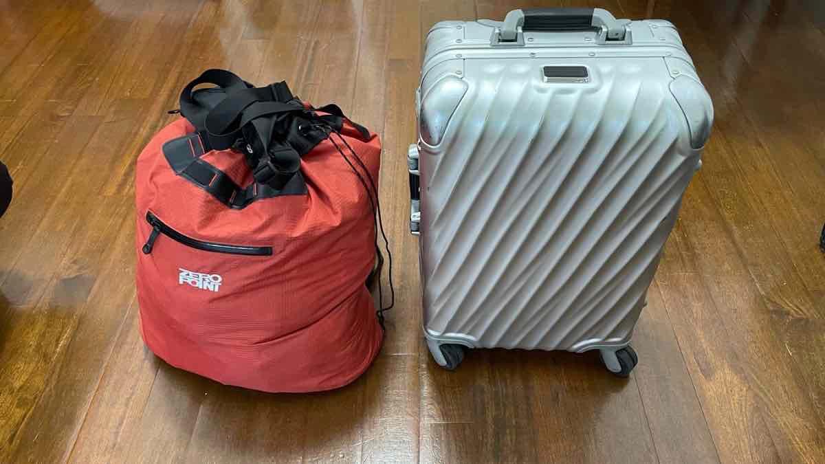 LCCに乗る時のバッグ 7kgの上限を超えない方法